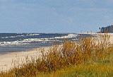 Baltijas jūra netālu no Irbes upes